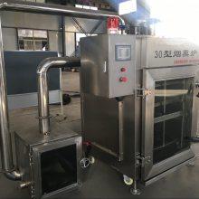 全自动烤肠烟熏机|全自动烤蛋卤蛋烟熏炉|市场专用烟熏烘干炉