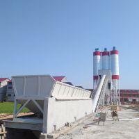 混凝土搅拌站HZS90高性能控制系统优良的搅拌性能