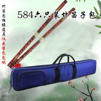584牛津布加厚防震乐器包2支六只装竹笛子包手提单肩背包袋订定做