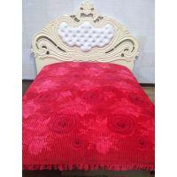水晶绒 床盖批发 绗缝床盖 韩式多功能盖毯 2米花边 现货供应 厂家直销