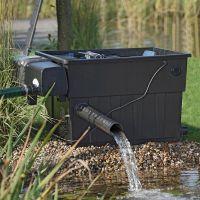 别墅庭院循环过滤水箱就用德国欧亚瑟全自动粗颗粒残渣分离过滤器57694高效节能家用静音