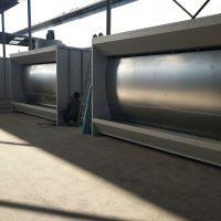 钢结构生产厂 漆雾处理设备 喷漆处理 高效漆雾处理 水旋式喷漆柜