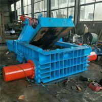 废钢压块机不二之选 铁丝废钢废铁压块机 力锋废铜易拉罐压块机