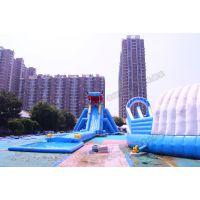 儿童乐园玩具卡通滑梯水上探险娱乐