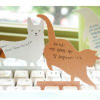 【品牌质保】可爱动物PVC透明盒装键盘便签纸 留言卡