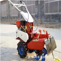 润丰多功能微耕开沟机 电启动柴油田园管理机可配合打药泵使用