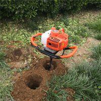 苗木施肥挖坑机 汽油款小型打眼机
