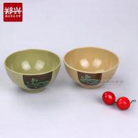 如意喷点塑料光面小碗米饭碗 酒店餐厅家居仿瓷碗 美耐皿密胺餐具