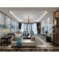东湖龙城新中式装修效果图——静品慢生活的美好!