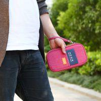 多功能韩国证件收纳包 多功能家居旅行用品票夹护照包卡片收纳袋