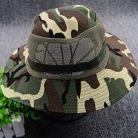 帽子男夏天户外夏季男士遮阳帽女防晒遮脸迷彩夫帽垂钓鱼太阳帽