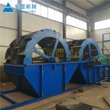 湖北省轮式洗沙机生产线 湖北水轮洗沙机推荐配置