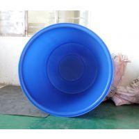 华社供应鱼菜共生pe塑料食品级养殖化工500l圆桶卷边