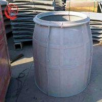 供应玻璃钢复合树脂人孔井 复合材料检查井 SMC模压井盖——河北龙轩