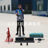 巨匠集团QTZ-3D电动取土钻机 高频振动冲击式轻便取样钻机