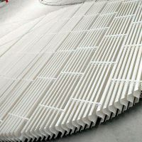 脱硫塔除雾器玻璃钢除雾器原理玻璃钢脱硫除尘设备——河北龙轩