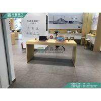 陕西华为3.5新款配件柜 手机卖场体验桌手机展柜定制