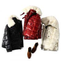 18冬季新品 温暖整个冬季!超大羊羔毛领 加厚保暖宽松显瘦羽绒服