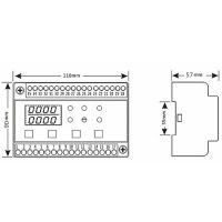 消防设备电源状态监控模块传感器AFPM32AVZXV
