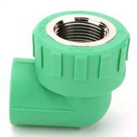 seefine世丰 家装绿 PPR管 绿色管件 内丝弯头 绿色 L25*1/2F