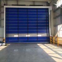 山东厂家销售安装车间PVC洁净门 抗风车库门 堆积感应防撞门