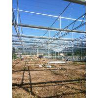 鞍山上石桥全玻璃智能温室大棚建造案例