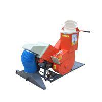 供应 小型家用收谷机 自走式汽油动力装袋机 农用谷物收集设备