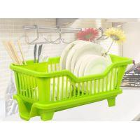 供应厨房置物架 塑料加厚滴水碗碟收纳架 滤水沥水碗架