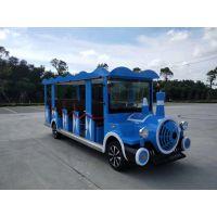 景区电动游览车价格新型无轨观光小火车厂家