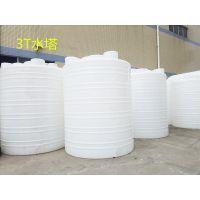 雄亚塑胶,3T水塔 3000L饮用塑料桶 白色滚塑食品桶 供应