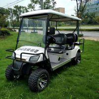 6电动高尔夫球场专用车辆电动越野车加防撞栏