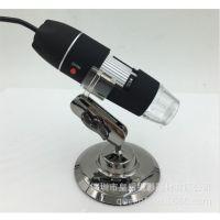 500倍USB高清工业数码电子显微镜便携式电子放大镜带灯可拍照录像