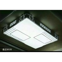特价全白LED卧室灯超薄铁艺亚克力吸顶灯客厅餐厅卧室灯具工程款