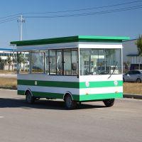 街景巴士餐车电动四轮小吃车移动烧烤车流动夜市摆摊 厂家直销