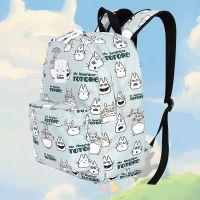 动漫周边学生双肩包龙猫猫老师小背包熊本熊休闲猫咪后院书包