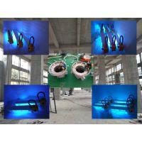 福州 QINGHAI 化工厂 钢结构 LED 防爆平台灯 50瓦 2.5米  护栏安装 150w防爆