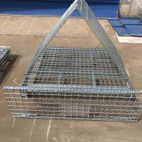 厂家供应可折叠式仓储笼 镀锌仓储笼