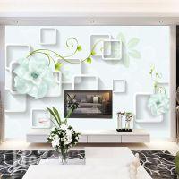 定制3D背景墙纸大型定制无缝壁画墙纸客厅卧室壁纸电视背景墙壁画