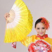 厂家直供舞蹈扇广场舞秧歌舞扇子演出服扇子 短扇子 舞蹈折扇