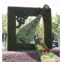 仿真植物墙体绿化 工地墙面绿化 定制绿化绿雕造型