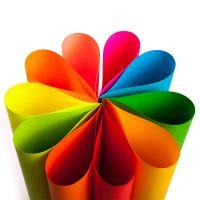 进口彩色书纸80g A4彩色打印纸手工纸 儿童折纸材料剪纸卡纸