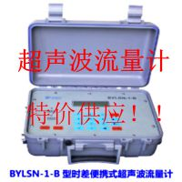 便携式超声波流量计  BYLSN-1-BIP68 超声波流量计