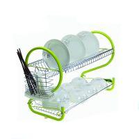 厂家直销双层碗架厨房厨具置物架碗碟架晾放碗盘筷刀沥水架