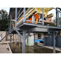 振沉桩泥浆固定处理淤泥快速脱水更方便运输