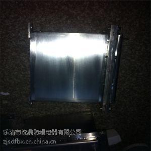 供应钢板焊接防爆照明动力配电箱 防爆箱一般都是什么材质 钢板焊接铝合金浙创防爆告诉你