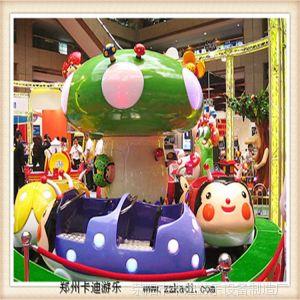 供应室外儿童游乐设备 夏季夜晚广场游乐设备 瓢虫乐园 旋转木马