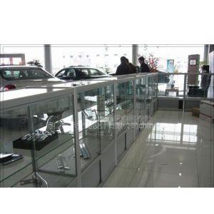 汽车配件展示柜、汽车用品展示架