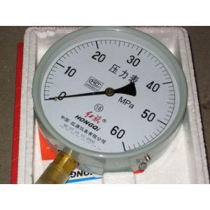 抗震压力表 精密油表 防震压力表