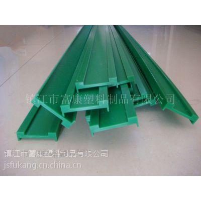 富康氟塑供应玻璃机械输送带导轨 聚四氟乙烯同步带 UPE皮带导轨