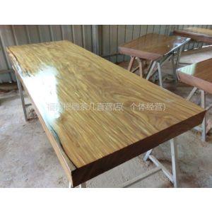 供应柚木王办公台原木实木大板桌会议桌书桌写字台接待桌书桌老板桌餐桌